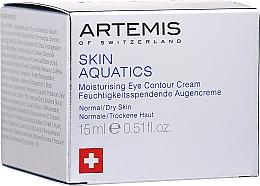 Parfumuri și produse cosmetice Cremă pentru conturul ochilor - Artemis of Switzerland Skin Aquatics Moisturising Eye Contour Cream