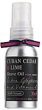 Parfumuri și produse cosmetice Bath House Cuban Cedar & Lime - Ulei de ras