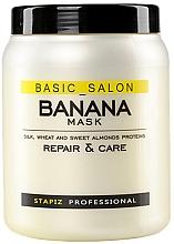 Parfumuri și produse cosmetice Маска для поврежденных волос - Stapiz Basic Salon Banana Mask