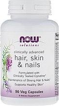 Parfumuri și produse cosmetice Suplimente nutritive - Now Foods Solutions Hair, Skin & Nails
