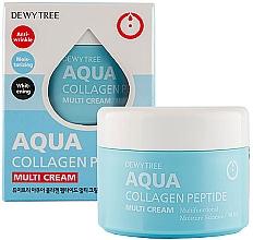 Parfumuri și produse cosmetice Cremă hidratantă pentru față - Dewytree Aqua Collagen Peptide Cream