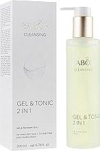 Parfumuri și produse cosmetice Tonic pentru față - Babor Cleansing Gel & Tonic 2 in 1
