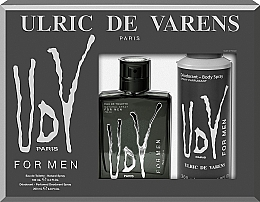 Parfumuri și produse cosmetice Ulric de Varens UDV - Set (edt/100ml+deo/200ml)