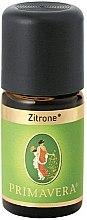 Parfumuri și produse cosmetice Ulei esențial de lămâie - Primavera Organic Lemon Essential Oil