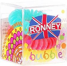 Parfumuri și produse cosmetice Elastic de păr, 3,5 cm - Ronney Professional S23 MAT