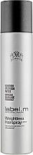 Parfumuri și produse cosmetice Lac pentru păr - Label.m Weightless Hairspray