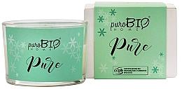 Parfumuri și produse cosmetice Lumânare organică - PuroBio Home Organic Pure