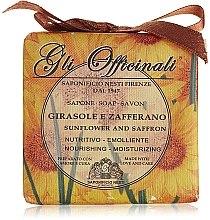 """Parfumuri și produse cosmetice Săpun """"Floarea-soarelui și șofran"""" - Nesti Dante Gli Officinali Sunflower & Saffron Soap"""