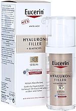 Parfumuri și produse cosmetice Ser anti-îmbătrânire pentru ten matur - Eucerin Hyaluron-Filler + Elasticity Anti-Age 3D Serum