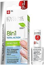 Parfumuri și produse cosmetice Ojă universală pentru unghii - Eveline Cosmetics Nail Therapy Professional Sensitive