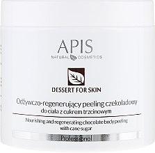 Духи, Парфюмерия, косметика Пилинг для тела - APIS Professional Dessert For Skin Nourishing And Regenerating Chocolate Body Peeling