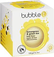 """Parfumuri și produse cosmetice Bombă de baie """"Ceai verde și Lemongrass"""" - Bubble T Bath Fizzer Lemongrass Green Tea"""
