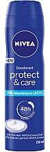Parfumuri și produse cosmetice Deodorant-spray - Nivea Women Deospray Protect & Care