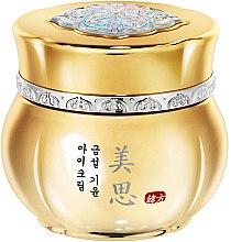 Parfumuri și produse cosmetice Cremă pentru întinerirea pielii din zona ochilor, cu ginseng și aur - Missha Misa Geum Sul Vitalizing Eye Cream