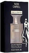 Parfumuri și produse cosmetice Naomi Campbell Pret a Porter - Apă de toaletă (mini)