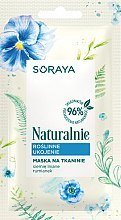 Parfumuri și produse cosmetice Mască de țesut pentru față - Soraya Naturalnie Face Mask