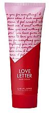 """Parfumuri și produse cosmetice Cremă de mâini """"Love Letter"""" - Oriflame Love Letter Hand Cream"""