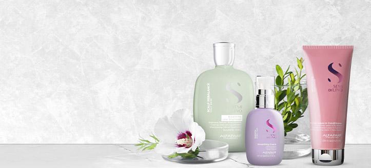 La achiziționarea a trei produse promoționale Alfaparf, primești cadou produsul cu cel mai mic preț
