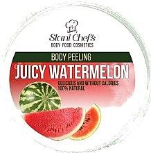 "Parfumuri și produse cosmetice Scrub pentru corp ""Pepene verde"" - Hristina Stani Chef'S Juicy Watermelon Body Peeling"