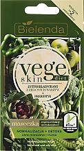Parfumuri și produse cosmetice Mască pentru ten gras - Bielenda Vege Skin Diet