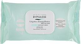 Parfumuri și produse cosmetice Șervețele demachiante - Byphasse Make-up Remover Aloe Vera Sensitive Skin Wipes