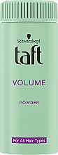 "Parfumuri și produse cosmetice Pulbere pentru păr ""Volum instantaneu"" - Schwarzkopf Taft Volumen Powder"