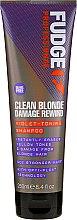 Parfumuri și produse cosmetice Șampon de păr - Fudge Clean Blonde Damage Rewind Shampoo