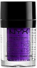 Parfumuri și produse cosmetice Fard cremos pentru ochi - NYX Electro Brights Loose Pigment