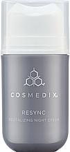 Parfumuri și produse cosmetice Cremă revitalizantă de noapte pentru față - Cosmedix Resync Revitalizing Night Cream