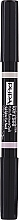 Parfumuri și produse cosmetice Highlighter dublu pentru sprâncene - Pupa Eye Brow