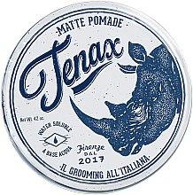 Parfumuri și produse cosmetice Pomadă matifiantă pentru modelarea părului, pe bază de apă - Tenax Hair Matte Pomade Strong Hold