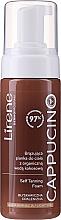 Parfumuri și produse cosmetice Spumă autobronzantă pentru corp - Lirene Cappucino Self Tanning Foam