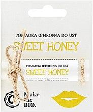 Parfumuri și produse cosmetice Balsam de protecție pentru buze - Make Me BIO Sweet Honey