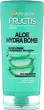 Parfumuri și produse cosmetice Balsam hidratant pentru păr uscat - Garnier Fructis Aloe Hydra Bomb Hair Conditioner
