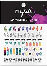 "Parfumuri și produse cosmetice Abțibilduri pentru unghii ""Holiday"" - MylaQ My Holiday Sticker"