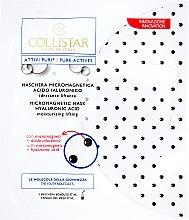 Parfumuri și produse cosmetice Mască cu acid hialuronic pentru față - Collistar Pure Actives Micromagnetic Mask Hyaluronic Acid