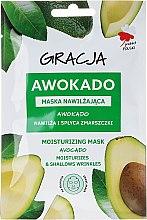 """Parfumuri și produse cosmetice Mască de față """"Avocado"""" - Gracja Moisturizing Mask"""