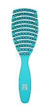 Parfumuri și produse cosmetice Perie de păr, albastră - Ilu Brush Easy Detangling Ocean Blue