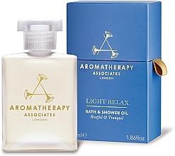 Parfumuri și produse cosmetice Ulei relaxant pentru baie - Aromatherapy Associates Light Relax Bath & Shower Oil