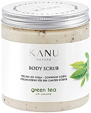 Parfumuri și produse cosmetice Peeling do ciała Zielona herbata - Kanu Nature Green Tea Body Scrub