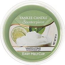 Parfumuri și produse cosmetice Ceară aromatică - Yankee Candle Vanilla Lime Melt Cup