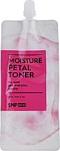 Parfumuri și produse cosmetice Toner hidratant cu ceramide pentru față - SNP Mini Moisture Petal Toner (mini)