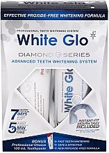 Parfumuri și produse cosmetice Set - White Glo Diamond Series Set (toothpaste/100ml + toothgel/50ml)