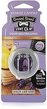 Parfumuri și produse cosmetice Difuzor arome mașină - Yankee Candle Smart Scent Vent Clip Lemon Lavender