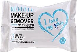 Parfumuri și produse cosmetice Șervețele demachiante cu apă termală - Revuele Make-Up Remover I Love My Skin Wet Wipes