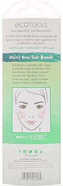 Pensulă pentru blush și bronzer - EcoTools Precision Blush Brush — Imagine N3