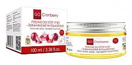 Parfumuri și produse cosmetice Scrub pentru picioare și tălpi - GoCranberry Cranberry Smoothing Foot & Heel Scrub