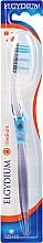 """Parfumuri și produse cosmetice Periuță de dinți """"Interactive"""" duritate medie, albastră - Elgydium Inter-Active Medium Toothbrush"""