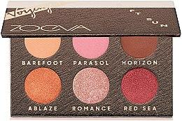 Parfumuri și produse cosmetice Paletă farduri de ochi - Zoeva Soft Sun Voyager Eyeshadow Palette