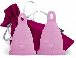Parfumuri și produse cosmetice Набор менструальных чаш, розовые, размер S-M - Perfect Cup